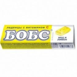 БОБС' леденцы от кашля 10x3г медово-лимонные