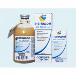 Пепидол ПЭГ, р-р 5% 250мл Этеросорбент для взрослых