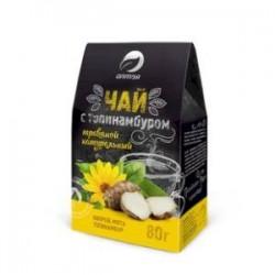 Чай травяной С топинамбуром 80гр (топинамбур, кипрей, мята)