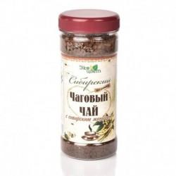 Чаговый чай с женьшенем 90гр (Травы Байкала)