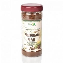 Чаговый чай с вытяжкой из кедрового ореха 90гр (Травы Байкала)