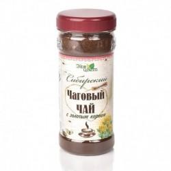 Чаговый чай с золотым корнем 90гр (Травы Байкала)