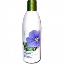 Целитель' Шампунь с льняным маслом 300мл восстановление поврежденных волос,с кондиционирующим эффектом