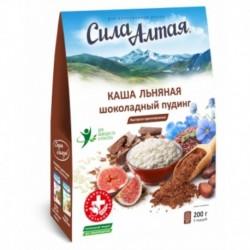 Каша Льняная Шоколадный пудинг 5 саше-пак,*40 гр