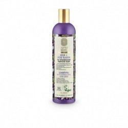 Профессиональный шампунь kedr & rose elastin для ослабленных волос, 400 мл