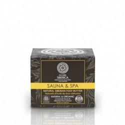 Sauna & spa натуральное густое сибирское масло для ног, 120 мл