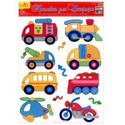 Наклейки для интерьера детской комнаты (HD-2001)