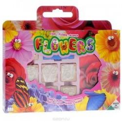 Набор штампов в портфельчике 'Цветы'