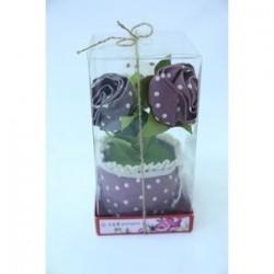 Цветочное саше 2. Ароматизированный цветок (фиалетовый)
