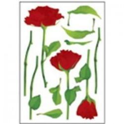 Наклейки для интерьера 'Розы'