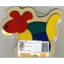 Сборная деревянная рамка 'Собака'