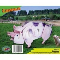 MC012 Свинья (цветная)