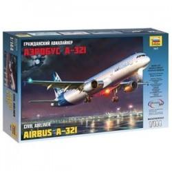 Самолет 'Аэробус А-321' (7017)