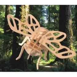 Цикада. Сборная деревянная модель