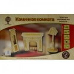 Сборная деревянная модель 'Каминная комната' (80023)