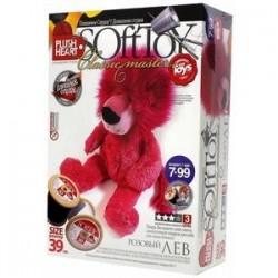 Мягкая игрушка. Розовый лев (457009)