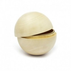 Шкатулка-шар Липа (10см)