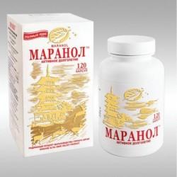 МАРАНОЛ, активное долголетие, замедление процессов старения, 120 кап