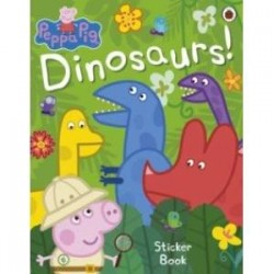 Peppa Pig: Dinosaurs! Sticker Book