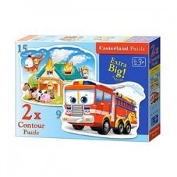 Puzzle-9*15 'Пожарная команда' (В-020058)