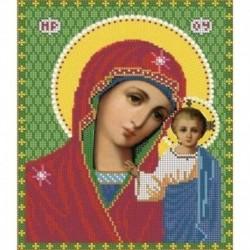 Набор для вышивания бисером, 11,8х15,8 см. 7319М. 'Пресвятая Богородица - Казанская'