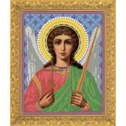 Набор для вышивания бисером 7304 М, 12х16 см. 'Святый Ангел Хранитель'