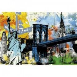 Пазл 'Символы Нью-Йорка' (1500 деталей)