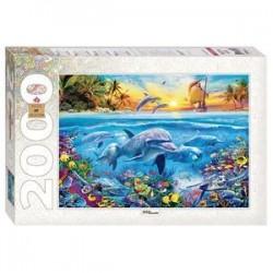 Puzzle-2000. 'Дельфины'