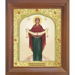Икона Покров Пресвятой Богородицы. 10x12