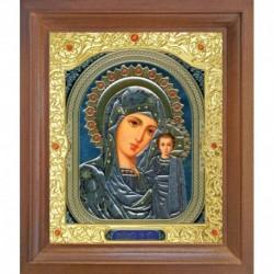 Икона Пресвятая Богородица Казанская. 15x18
