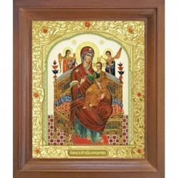 Икона Всецарица. 15x18