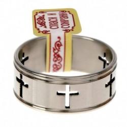 Кольцо 'Кресты', размер 17