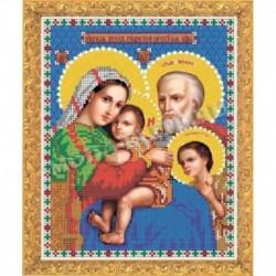 Набор для вышивания бисером «Образ трех радостей Пресвятой Богородицы»