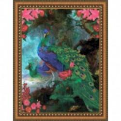Набор для вышивания бисером «Павлины» 39x49,5 см