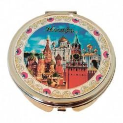 Зеркало металографика 'Москва. Спасская башня'