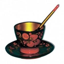 Хохлома пищевая Комплект для кофе