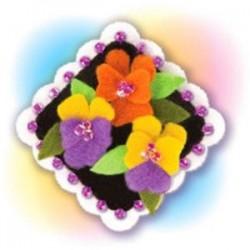Набор для детского творчества. Изготовление украшения 'Виолетта'