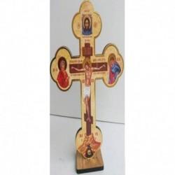 Крест настольный большой со святыми 135x200 мм