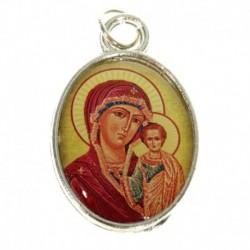 Нательная икона 'Божия Матерь Казанская'
