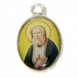 Нательная икона 'Святой преподобный Серафим Саровский'