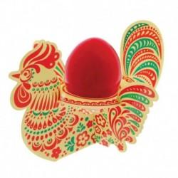 Подставка пасхальная на 1 яйцо 'Петух'