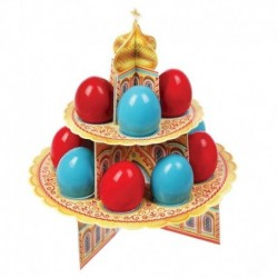 Подставка пасхальная на 12 яиц 'Храм'