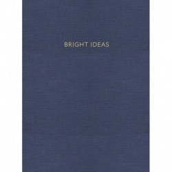 Блокнот 'Bright Ideas' (96 листов, А5, в точку, синий)