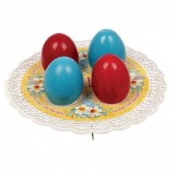 Подставка пасхальная на 4 яйца 'Цветы'