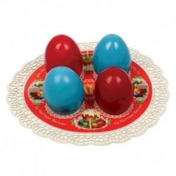 Подставка пасхальная на 4 яйца 'Кулич'