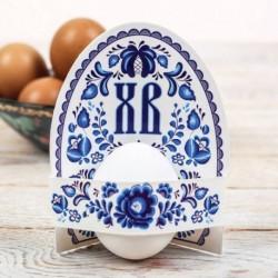Открытка-держатель для яйца «ХВ», 9,5 x 11 см
