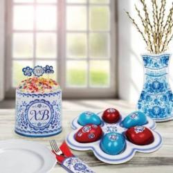 Набор для украшения стола 'Христос Воскресе' (с подставкой на 6 яиц)