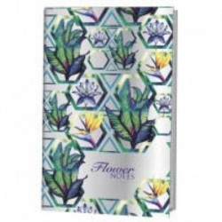 Flower Notes. Блокнот-голограмма (фиолетовый)