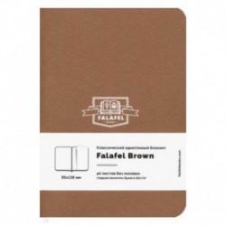 Блокнот 'Brown' (40 листов, А6, нелинованный, молочная бумага) (479685)