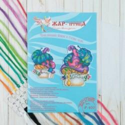 Набор для вышивания 'Мудрая гусеница' 15x12 см